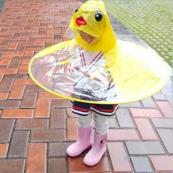 Płaszcz przeciwdeszczowy z pvc jednorazowe poncho przeciwdeszczowe głowa parasol płaszcz w kształcie dzieci dziecięcy płaszczyk przeciwdeszczowy składany sprzęt przeciwdeszczowy żółta kaczka wzór tanie i dobre opinie Odzież przeciwdeszczowa rain coat Single-osoby przeciwdeszczowa Z tworzywa sztucznego Turystyka Chłopcy Dziewczyny Uniwersalny