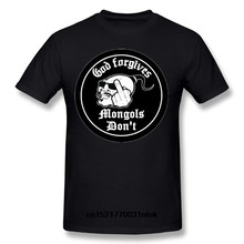 Camisa masculina de t mongols mc para o pescoço topos club man (SizeS-6XL) camiseta feminina