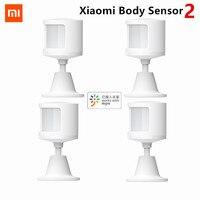 2021 Xiaomi Mijia Menschlichen Körper Sensor 2 Motion Sensor Magnetische Smart Home Super Praktische Gerät Zubehör Intelligente Gerät