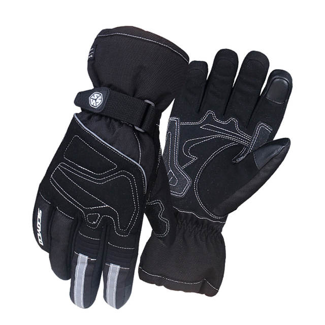 SCOYCO Motorcycle Gloves 100% Windproof Waterproof Winter Moto Gloves Touch Screen Gant Moto Guantes Motorbike Riding Gloves