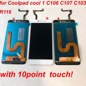 Image 4 - Original For Cool1 Dual C106 R116 C103 LCD Display Touch Screen Digitizer Assembly Replacement For Letv Le LeEco Coolpad Cool 1c