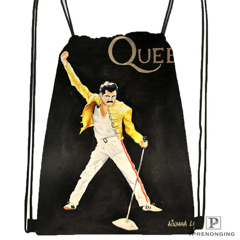 De la Reina cordón mochila bolsa mochila niños bolso (negro) x 31x40cm #180531-04-69