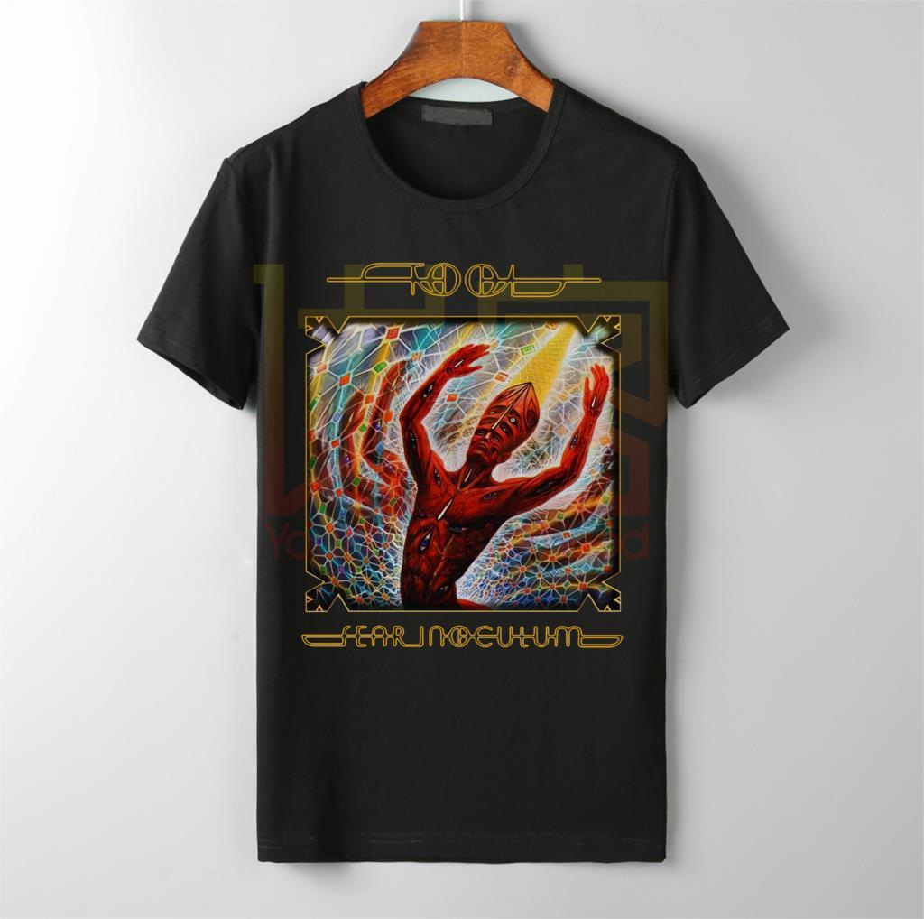 Outil peur Inoculum Tour Date 2019 t shirt hommes cool populaire marque top vente coton o cou t-shirt