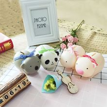 Money Saving Case Cute Piggy Children Bank Kid Room Desktop Ornaments Gifts Doll Toy for  Cartoon Box