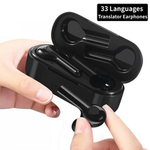 Earphones Translator Instant Languages Voice-Real-Time Earbud Traductor Bluetooth Wireless