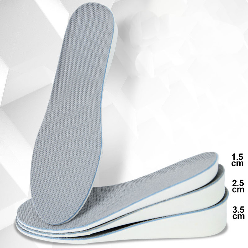Height Increase Insoles For Men/women 1.5/2.5/3.5 Cm Up Invisiable Arch Support Orthopedic Insoles Shock Absorption EVA Material