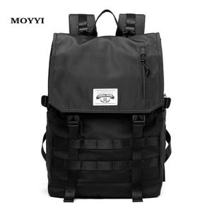 Image 1 - MOYYI Molle Shockproof Travel Backpack Men Travel Dairy Hangout Lightweight Large Capacity Male Mochila Anti Theft Backpacks