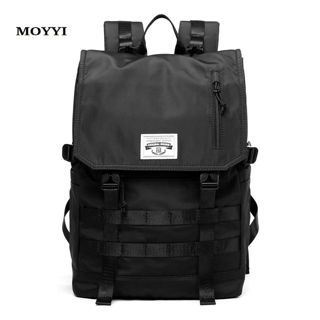MOYYI Molle Shockproof Travel Backpack Men Travel Dairy Hangout Lightweight Large Capacity Male Mochila Anti Theft Backpacks