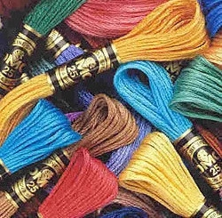 Oneroom Free Shipping 10/20/50/100/150 Anchor Similar DMC Cross Stitch Cotton Embroidery Thread Floss Sewing Skeins Craft