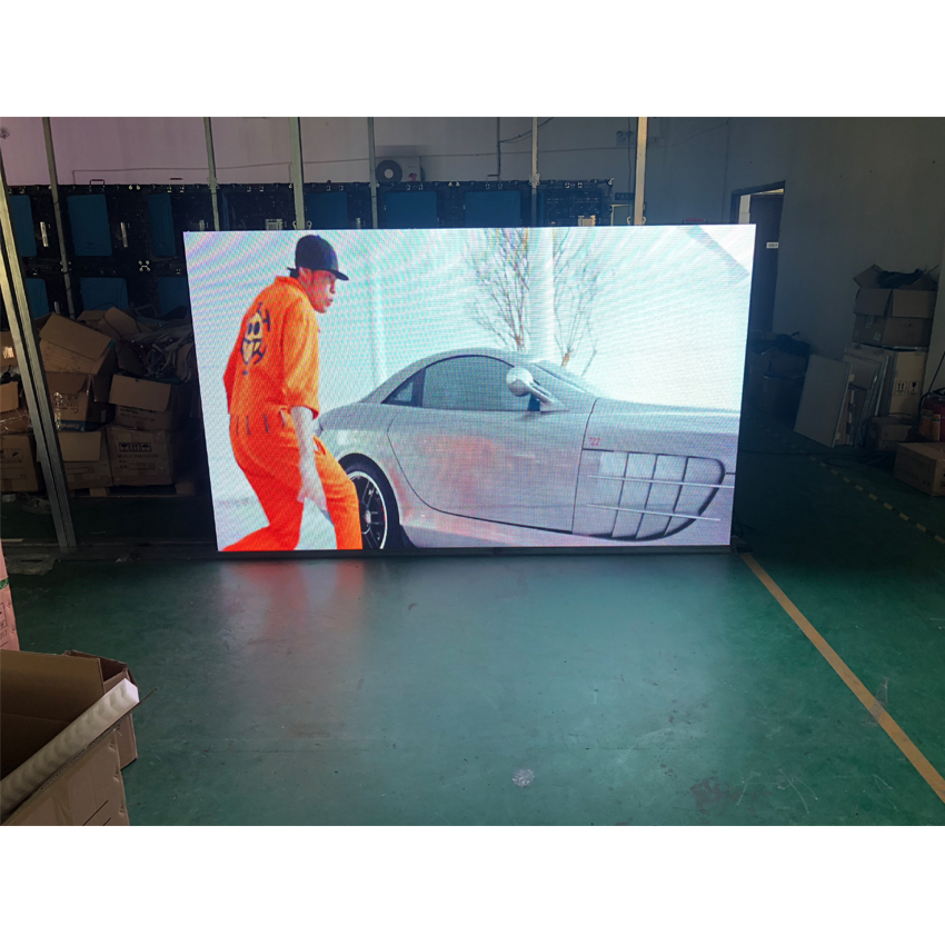 P3.91 SMD 128*128dots 500x500mm Cabinet Rental HD LED Display For Outdoor Avertising Billboard