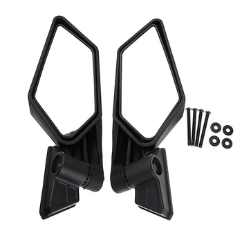 1pair Weather Resistant Clear Off Road Motorcycle Outdoor Racing Rearview Mirror Riding High Definition For Can Am  X3