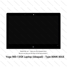 Assembly Yoga 900-13isk Lenovo Lcd-Screen Touch LTN133YL03 for Digitizer Series 3200X1800
