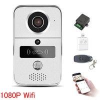IP Video Intercom 4G Video Door Phone Ring Door Bell Doorbell WiFi Camera Alarm Wireless Security SD Card Camera add 32GB Card