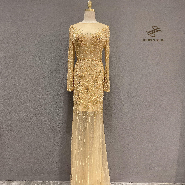Abiti Da Sera Over 50.Luxurious 2020new Evening Dress Abiye Robe De Soiree Dress Party
