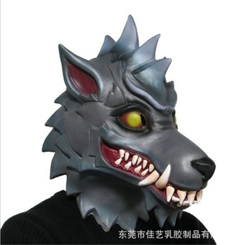 New wolf mask werewolf mask cosplay animal head halloween costume zombie mask horror werewolf creepy crawly dracula mask фото