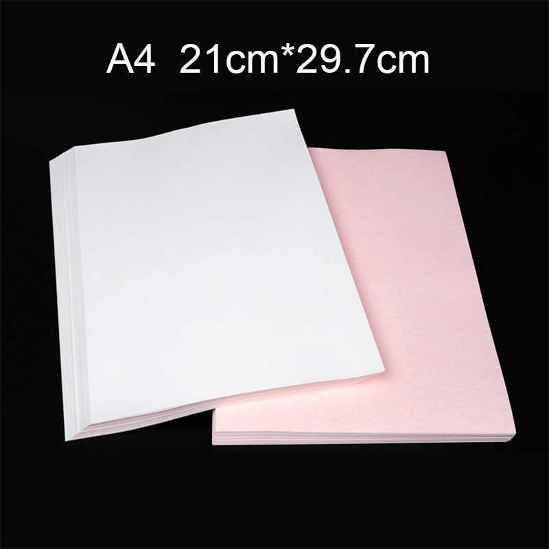 10 unids/set A4 papel para transferencia de sublimación térmica para DIY camisetas tazas bolsas pintura plancha en papel para tela ligera hecha a mano