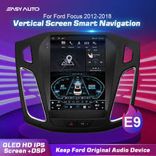 Universal 10.4'' Ford Focus GPS Navigation Head unit Player car accessory 4+64G 4G WIFI Bluetooth stereo video player(China)