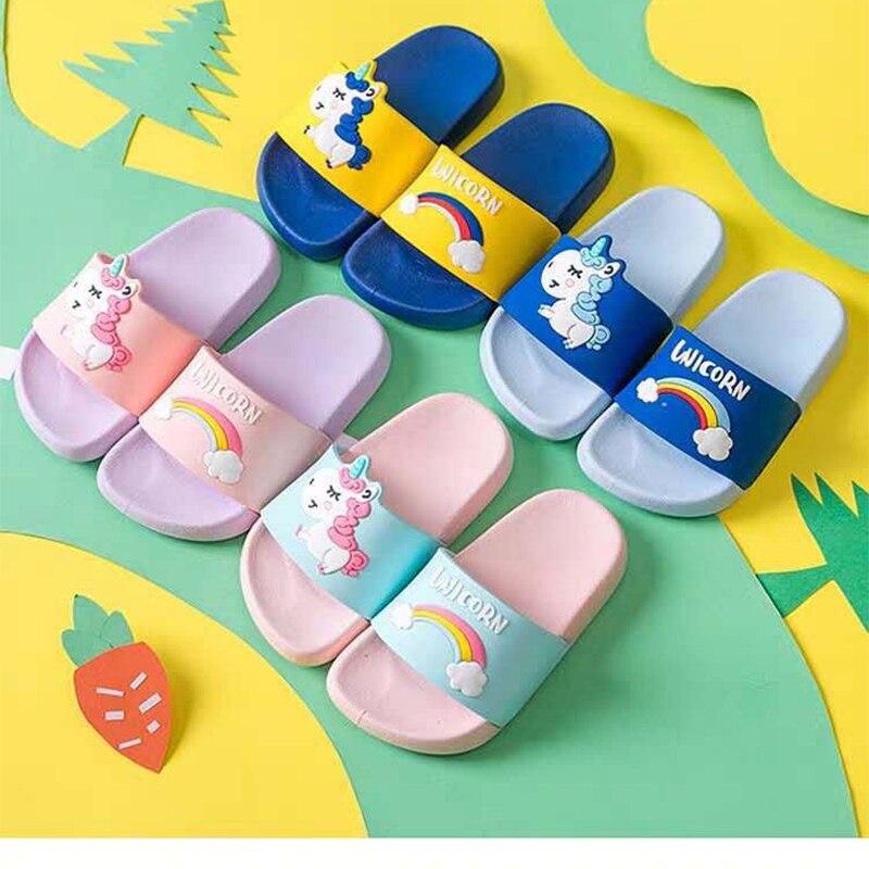 Unicorn Rainbow Slippers 5