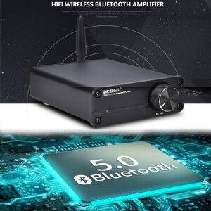 Image 5 - KYYSLB TPA3116 מיני 5.0 Bluetooth מגבר DC12 ~ 24v 100W * 2 QCC3003 חום HIFI סטריאו בית אודיו דיגיטלי מגבר 4 ~ 8 אירו