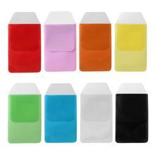 XRHYY 2 шт сверхмощный разные цвета ПВХ ручки сумки доктора медсестры вставлены герметичный Карманный Протектор для школы больницы офиса
