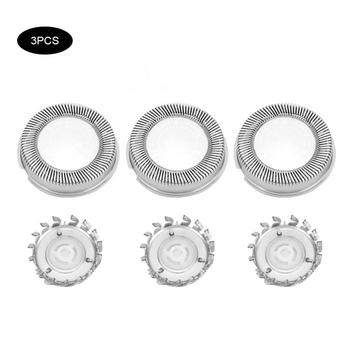 3pcs Steel Shaver Head Replacement Accessory Fit for Philip HQ4 HQ46 HQ481 HQ851 HQ6990 HQ803 Personal Care Appliance Parts 1
