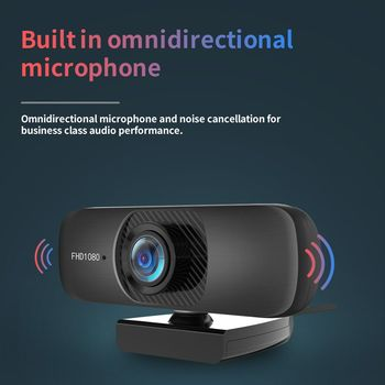 Best C60 1080P Webcam PC USB Camera Web Cam Full HD Network Web Camera With Microphone Laptop Webcam for Webcast/Online teaching 2