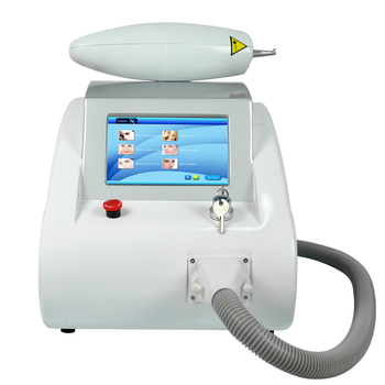Q Switched nd Yag Laser machine for eyebrows removal  tattoo removal  wrinkle removal 2017 new the part of beauty equipment 532 1064 laser tips with nd yag laser handpiece nd yag laser handle