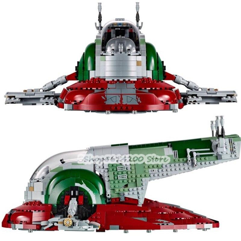 3290 pièces Lepining 05038 Star Toys Wars Compatible avec Cavegod UCS modèle d'assemblage de chenilles de sable blocs de construction briques enfants G