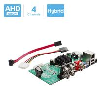 BESDER carte DVR hybride pour analogique AHD CVI TVI, 4 en 1, enregistreur de vidéosurveillance, 4 canaux AHD DVR 4CH 1080N