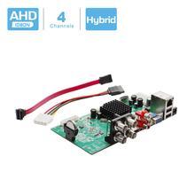 BESDER grabador de videovigilancia 4 en 1 Con DVR de 4 canales, grabador de videovigilancia, DVR, 4 canales, 1080N, placa híbrida DVR para analógica AHD CVI TVI