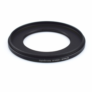 Image 3 - Wholesale 67mm 43mm Step Down Metal lens filter Adapter Ring/67mm Lens to 43mm UV CPL ND Accessory