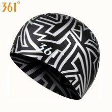361 Silicone Swimming Cap Men Women Boys Girls Waterproof Swimming Hat for Pool Hat Ear Protection Adult Kids Swim Accessories