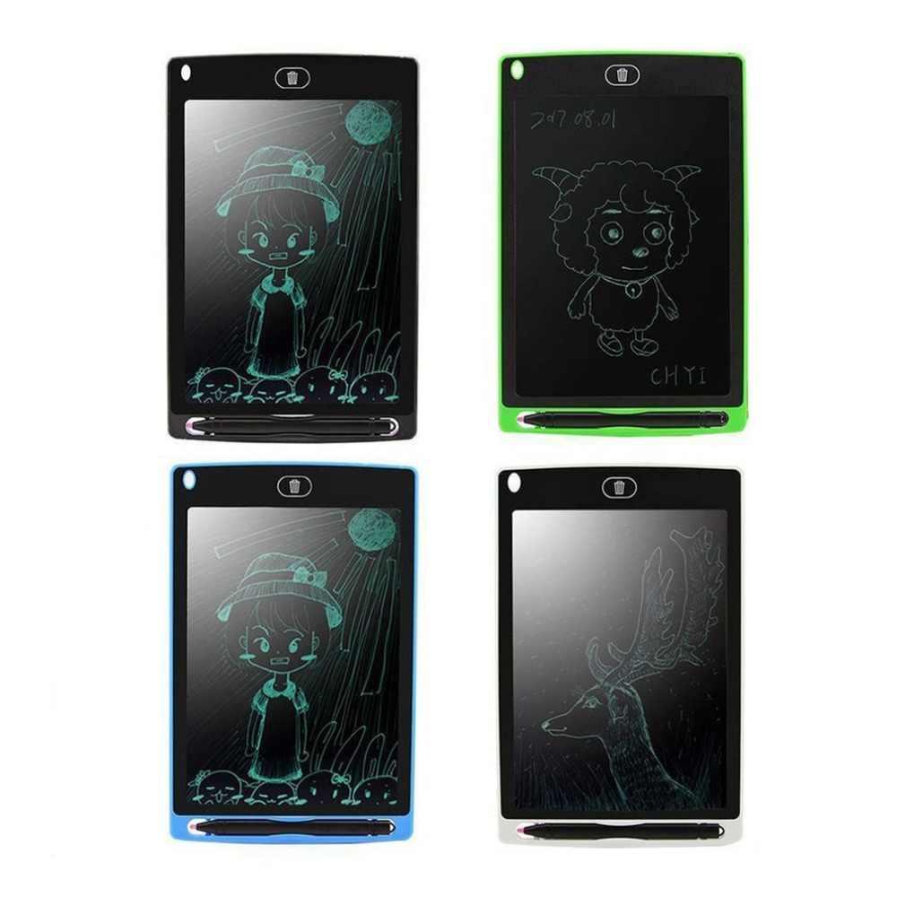 Escrita Placa de Escrita Bloco de Notas Digital LCD Gráfico Desenho Tablet 8.5 Polegada Bulletin Board para Educação Empresarial