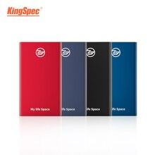 KingSpec SSD แบบพกพา 512 GB SSD 1TB HDD SSD ภายนอกประเภท C USB3.1 256 GB ฮาร์ดดิสก์ Externo Disk Festplatte HARD drive สำหรับแล็ปท็อปพีซี