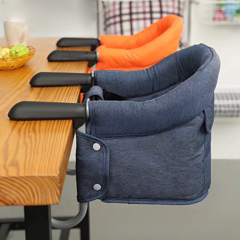 Foldable Feeding Chair Seat Baby Chair Portable Infant Seat Safety Belt Baby Dining Chair Booster Seat Kid Highchair