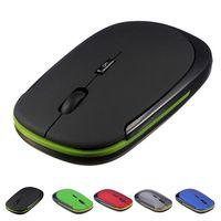 2.4 ghz sem fio mouse suave mão sentimento ultra fino mini usb receptor mutável 1600 dpi óptico gaming mouse Mouse    -