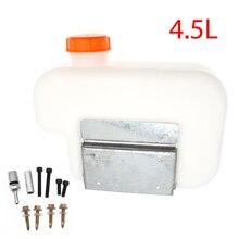 Universal 4.5L Plastic Fuel Oil Gasoline Water Tank Storge Box For Car Truck Boat Air Diesel Parking Heater + Bracket
