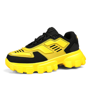 Hip Hop Men Sneakers Colorful Men Shoes Lightweight Chunky Sneakers Youth Boys Casual Shoes Mesh Male Footwear Fashion Platform fashion colorful platform men casual shoes breathable men designer shoes hip hop luxury brand couple sneakers men zapatos hombre