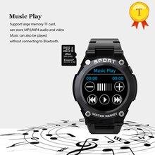 أفضل بيع لتحديد المواقع ساعة ذكية الرجال مراقب معدل ضربات القلب ضغط الدم TF بطاقة الموسيقى mp3 اللعب البوصلة بارومتر Smartwatch رجل امرأة