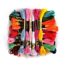 cxc two labels 10 pieces cross stitch threads  cross stitch embroidery thread Custom threads colors 06 tanie tanio XIANGYUANWU S SHOP-ZBYXZ CN(Origin) Dyed 0 02 Polyester Cotton Mercerized Knitting Crochet Weaving Hand Knitting Sewing