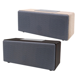 Wireless Speaker Portable Bluetooth Speaker with Sound System Wooden Case for Tablet Laptop Xiaomi