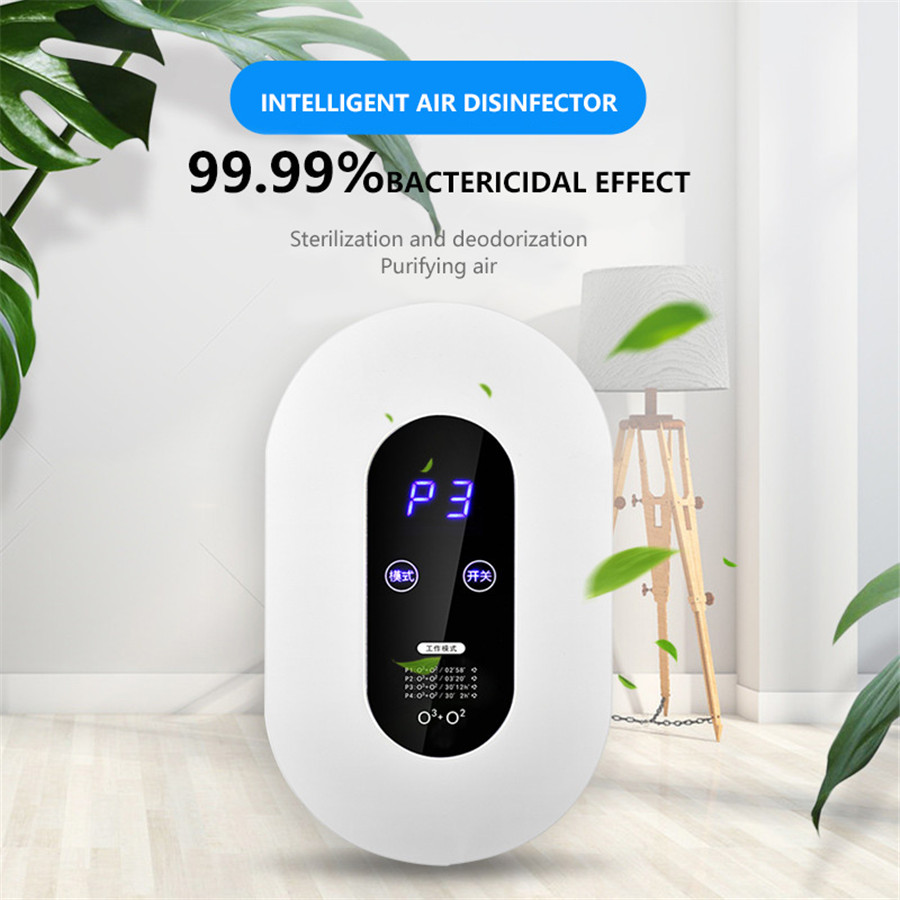 Ozone Generator 220v Smart Formaldehyde Deaerator Air Purifier Ozone Machine Kitchen Toilet Toilet Deodorant Deodorizer