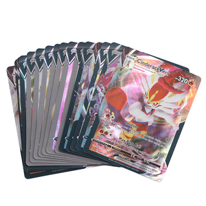 Newest Pokemones Card 30pcs/lot V&Vmax Cards Shining Card English TCG: Sword & Shield Booster Box Collectible Trading Card Game