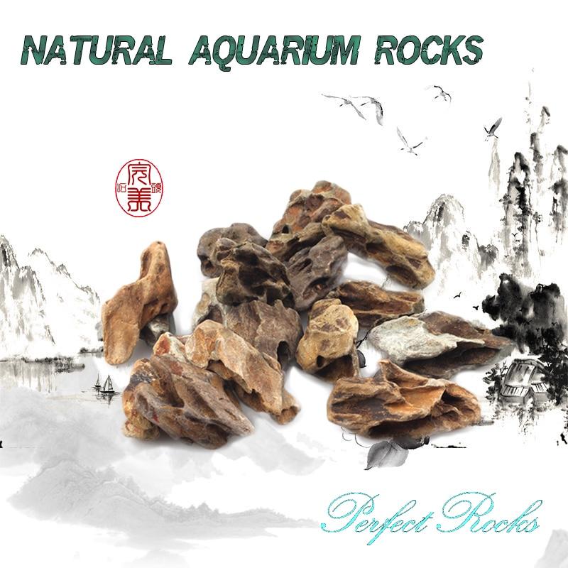 5-10cm Natural Aquarium Rocks Stones Colorful Stones For Fish Tank Decoration Ornament Aquarium Accessories Small Stones Rocks