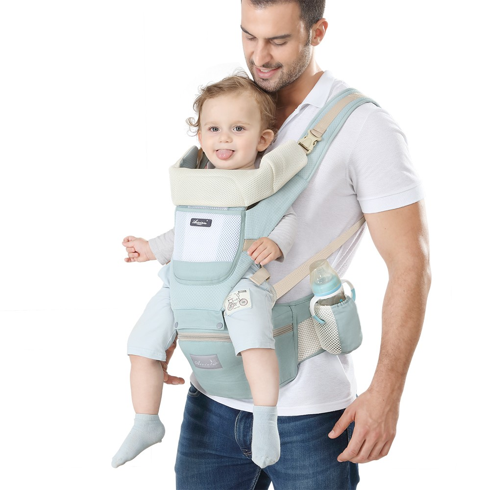 Ergonomic Newborn Baby Carrier Infant Kids Backpack Hipseat Sling Front Facing Kangaroo Baby Wrap For Baby Travel 0-36 Months