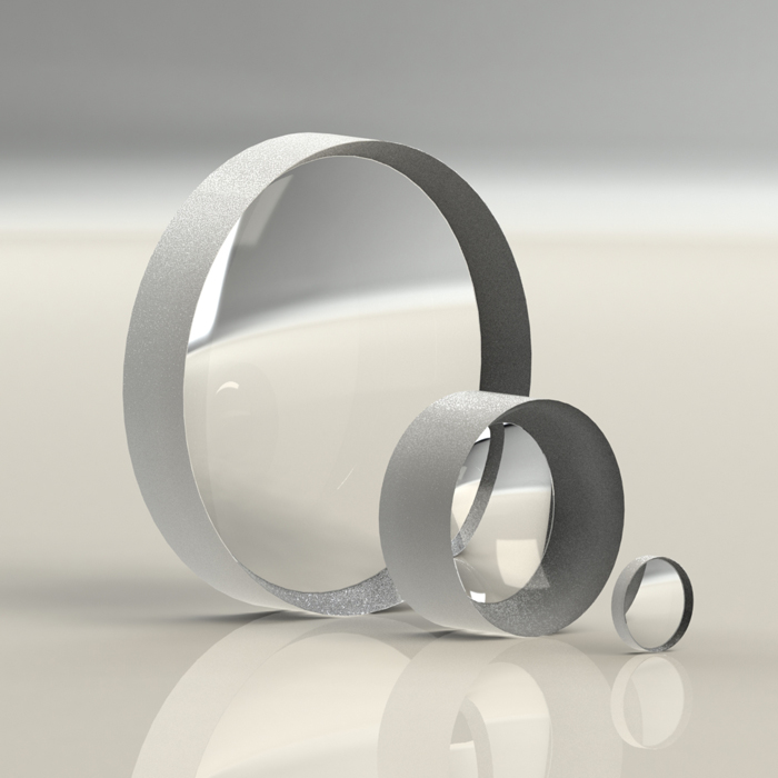 UV Fused Quartz Plano-Concave Lens 12mm Multi-focus Ultraviolet Fused Quartz Plano-Concave Lens