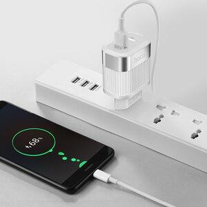 "Image 5 - HOCO פ""ד QC3.0 USB מהיר טלפון מטען 18W מהיר תשלום 3.0 האיחוד האירופי ארה""ב תקע קיר USB מטען מתאם מלא הסכם עבור iPhone סמסונג"