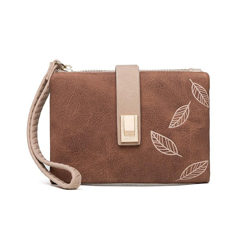 Matte Pu Leather Women Wallet Small Zipper Coin Purse Short Ladies Wallet Wristlet Women Purse Female Coin Pocket Card Holders
