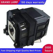 Compatível lâmpada do projetor com habitação elplp71 para epson EB-470 EB-475W EB-480 EB-485W 475wi 485wi com garantia de 180 dias