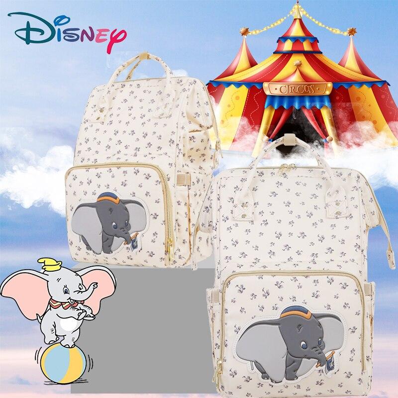 Sac à couches sac à dos USB Disney Mickey Minnie | Sac de voyage grande capacité, sac poussette multifonction pour bébé maman